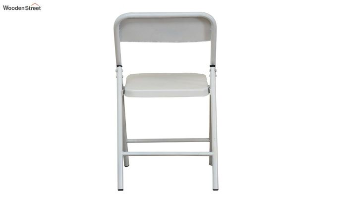 Zoe Metal Chair (White)-5