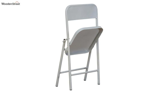 Zoe Metal Chair (White)-6