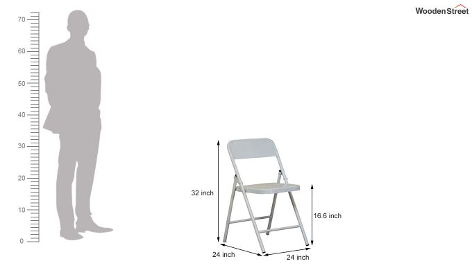 Zoe Metal Chair (White)-7