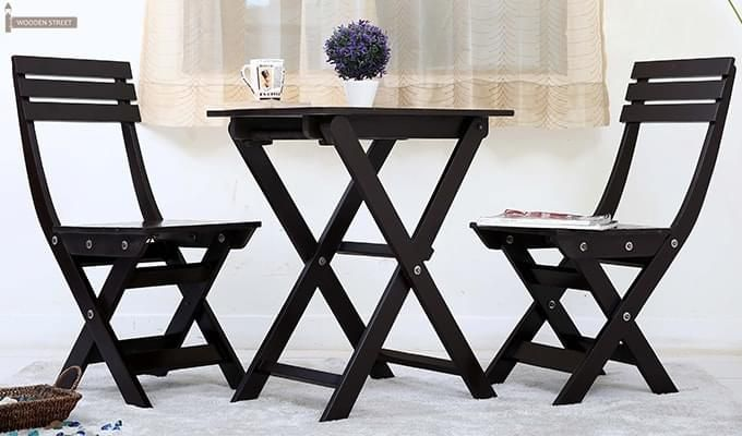 Myrick Balcony Table And Chair Set (Black)-1