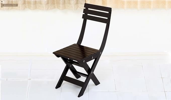 Myrick Balcony Table And Chair Set (Black)-4