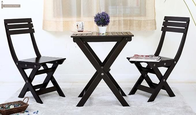 Myrick Balcony Table And Chair Set (Black)-6