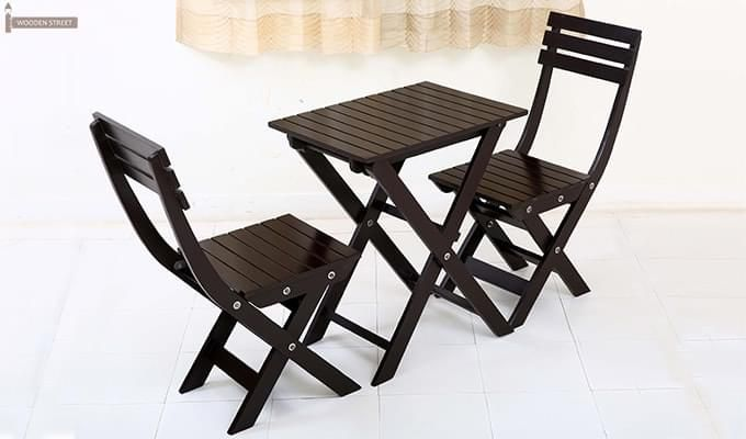 Myrick Balcony Table And Chair Set (Black)-7