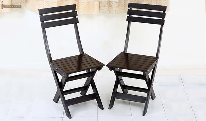 Myrick Balcony Table And Chair Set (Black)-12