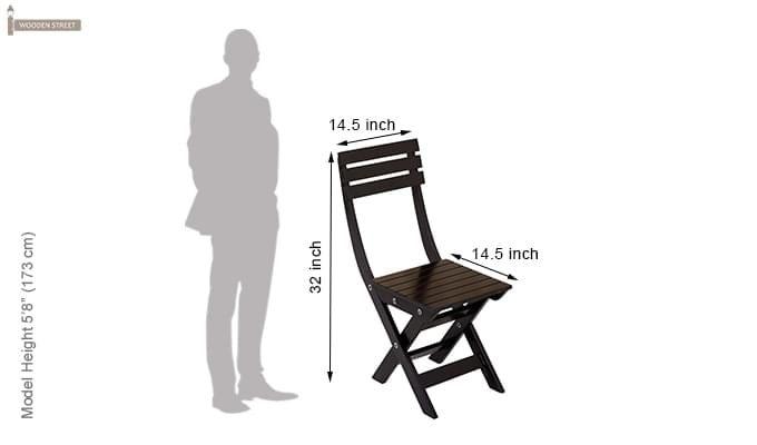 Myrick Balcony Table And Chair Set (Black)-13