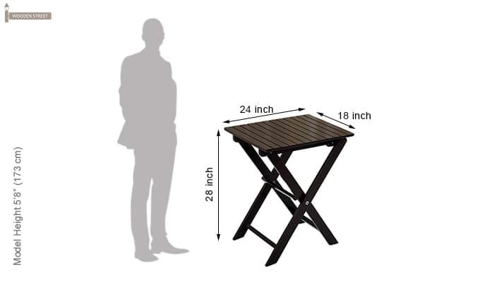 Myrick Balcony Table And Chair Set (Black)-14