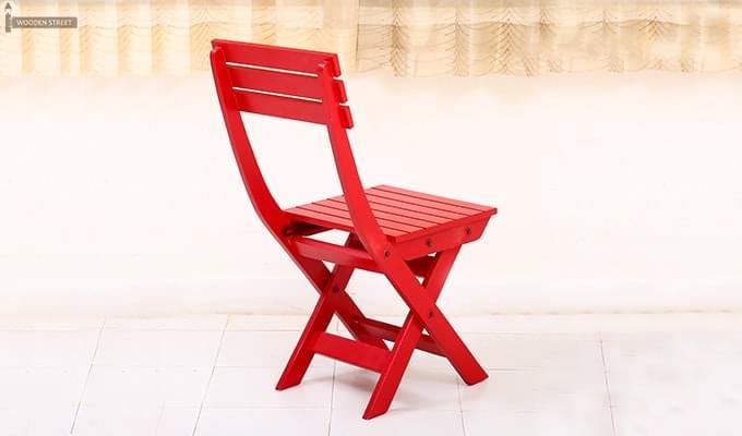 Myrick Balcony Table And Chair Set (Red)-2