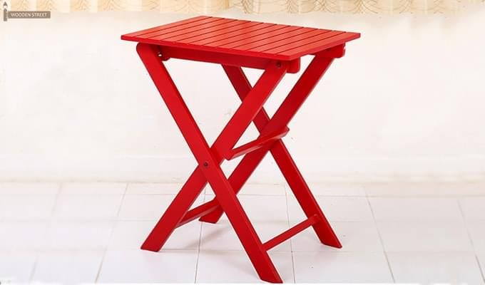 Myrick Balcony Table And Chair Set (Red)-6