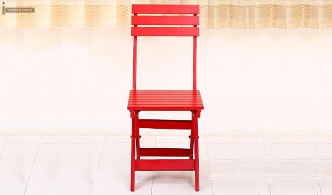 Myrick Balcony Table And Chair Set (Red)-13