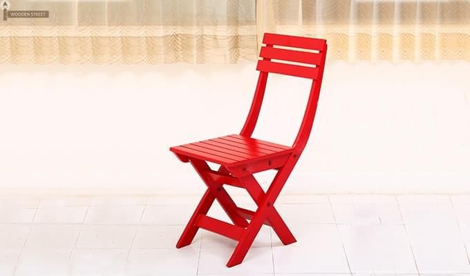 Myrick Balcony Table And Chair Set (Red)-14