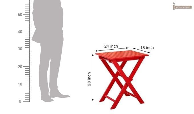Buy Myrick Balcony Table And Chair Set Red Online In
