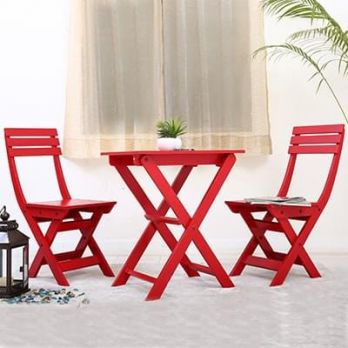 wooden balcony furniture set online India price