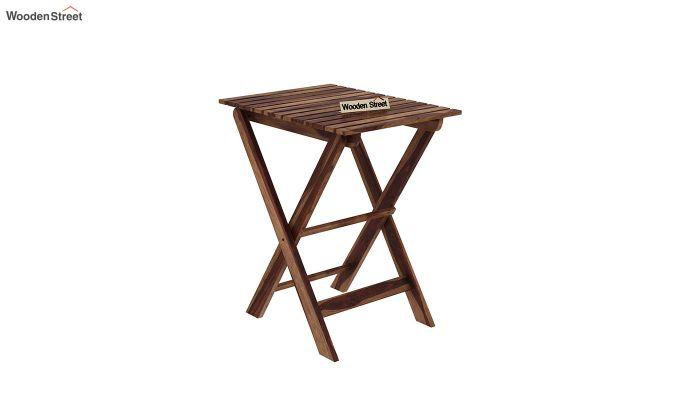 Myrick Balcony Table And Chair Set (Teak Finish)-5
