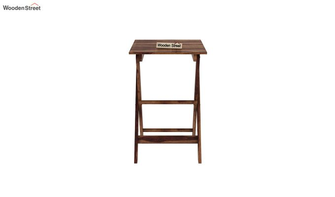 Myrick Balcony Table And Chair Set (Teak Finish)-6