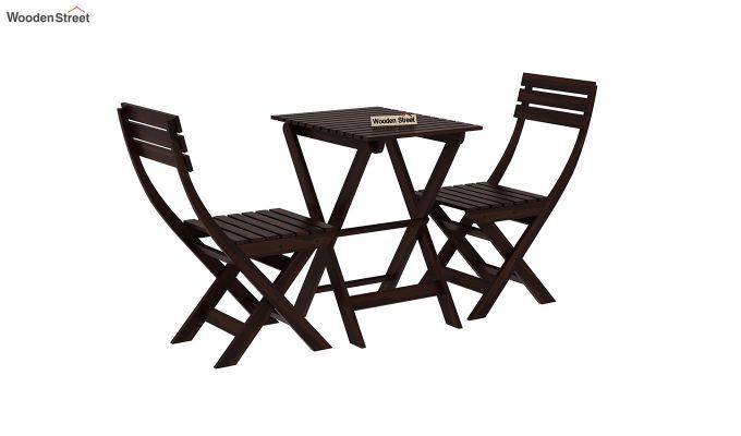 Myrick Balcony Table And Chair Set (Walnut Finish)-3