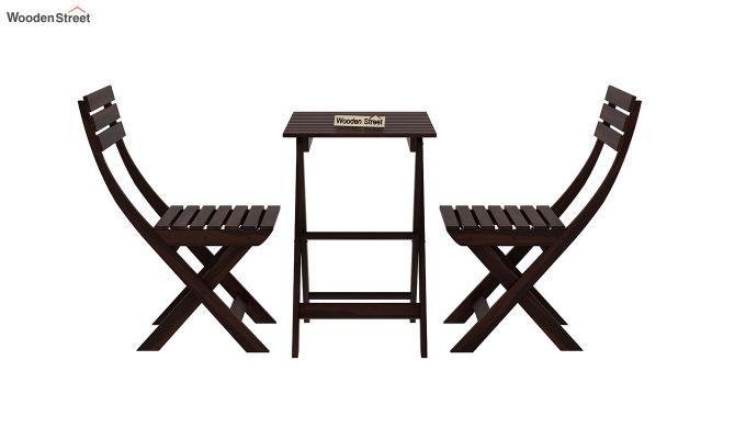 Myrick Balcony Table And Chair Set (Walnut Finish)-4