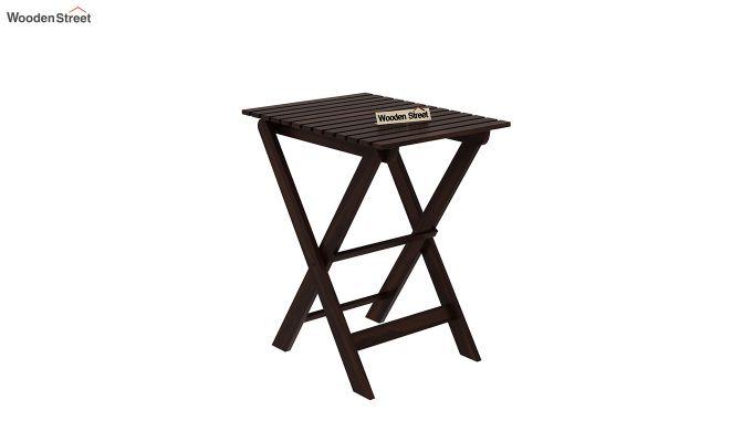 Myrick Balcony Table And Chair Set (Walnut Finish)-5