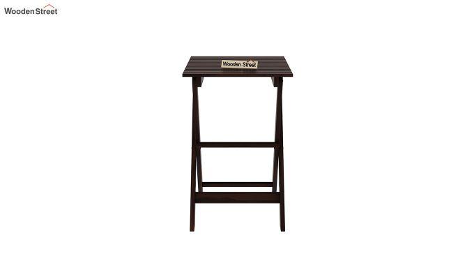 Myrick Balcony Table And Chair Set (Walnut Finish)-6