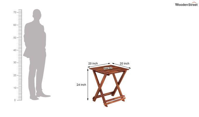 Novelo Balcony Set (Honey Finish)-9