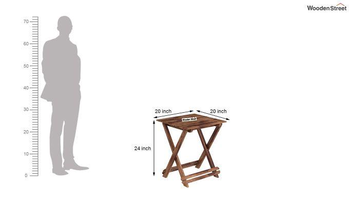 Novelo Balcony Set (Teak Finish)-9