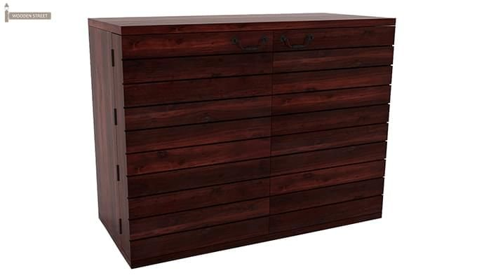 Abril Bar Cabinet (Mahogany Finish)-2