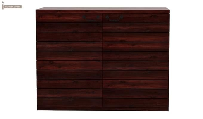 Abril Bar Cabinet (Mahogany Finish)-3
