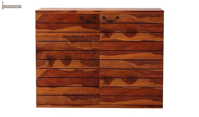 Abril Bar Cabinet (Teak Finish)-3