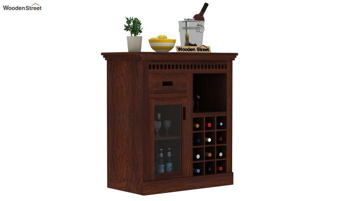 Adolph Small Bar Cabinet (Walnut Finish)-2