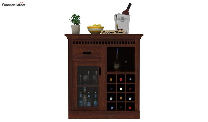 Adolph Small Bar Cabinet (Walnut Finish)-3
