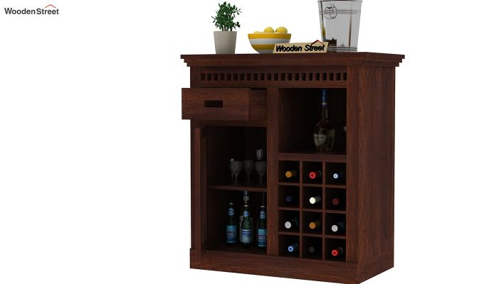Adolph Small Bar Cabinet (Walnut Finish)-4
