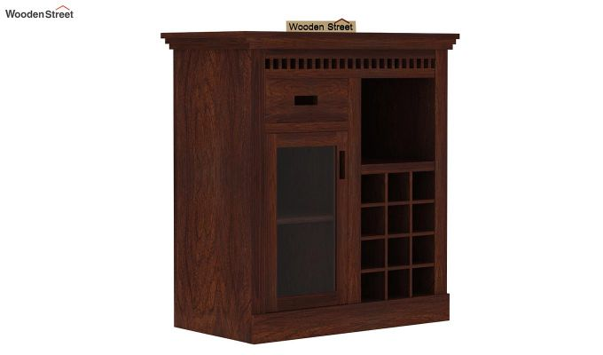 Adolph Small Bar Cabinet (Walnut Finish)-5