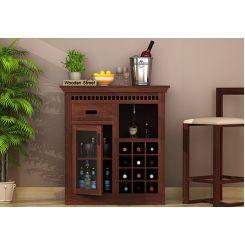 Adolph Small Bar Cabinet (Walnut Finish)