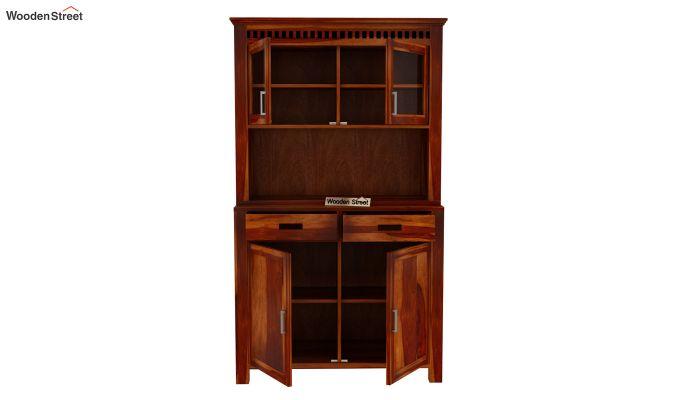 Adolph Bar Cabinet (Honey Finish)-5