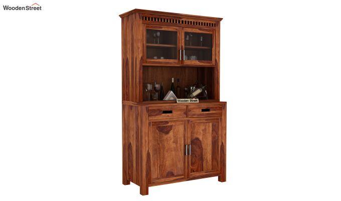 Adolph Bar Cabinet (Teak Finish)-1