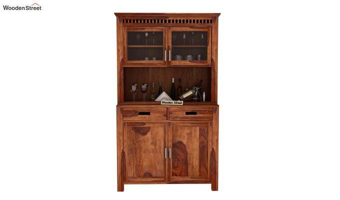 Adolph Bar Cabinet (Teak Finish)-2