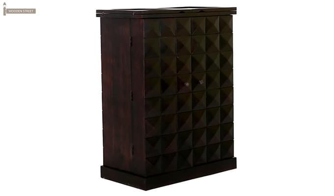 Auric Large Bar Cabinet (Mahogany Finish)-4