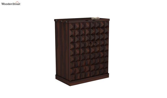 Auric Large Bar Cabinet (Walnut Finish)-2
