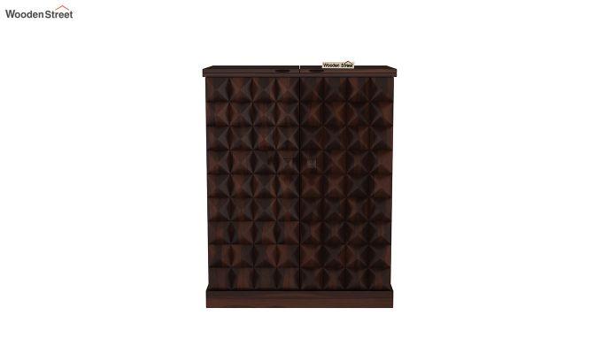 Auric Large Bar Cabinet (Walnut Finish)-3
