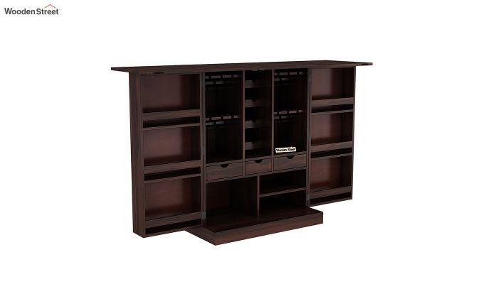 Auric Large Bar Cabinet (Walnut Finish)-6