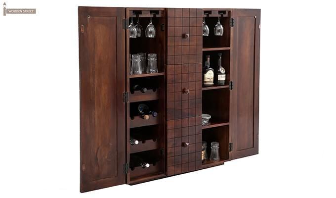 Avril Bar Cabinet (Walnut Finish)-1