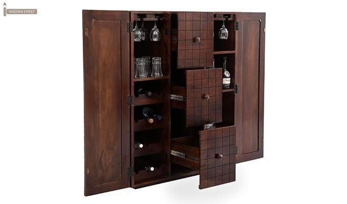 Avril Bar Cabinet (Walnut Finish)-2