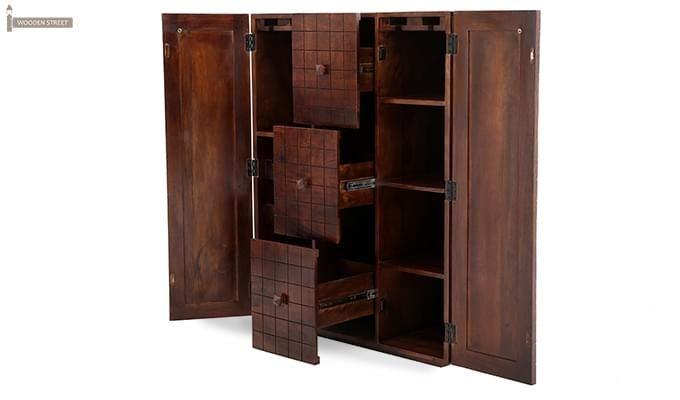 Avril Bar Cabinet (Walnut Finish)-9