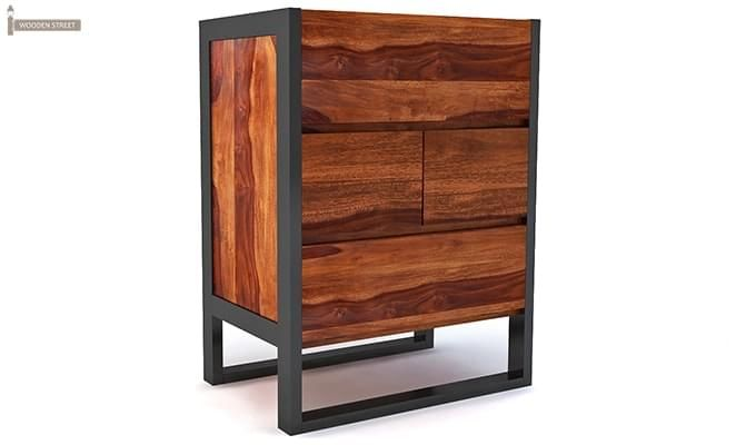 Bosnia bar Cabinet (Honey Finish)-1