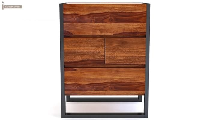 Bosnia bar Cabinet (Honey Finish)-3