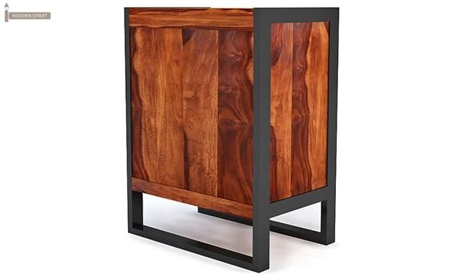 Bosnia bar Cabinet (Honey Finish)-5