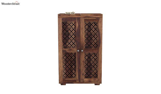 Cambrey Bar Cabinet (Teak Finish)-3
