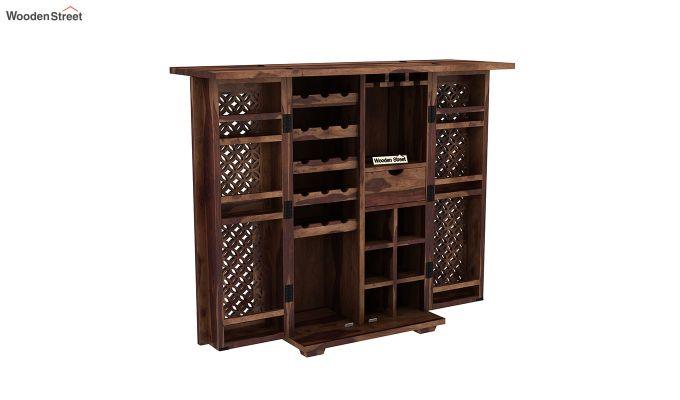 Cambrey Bar Cabinet (Teak Finish)-4