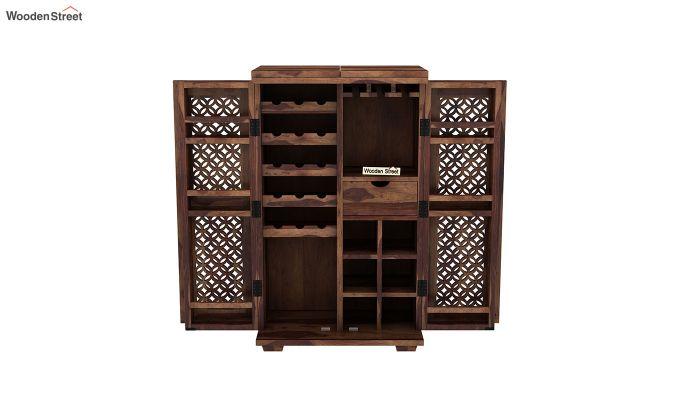 Cambrey Bar Cabinet (Teak Finish)-7
