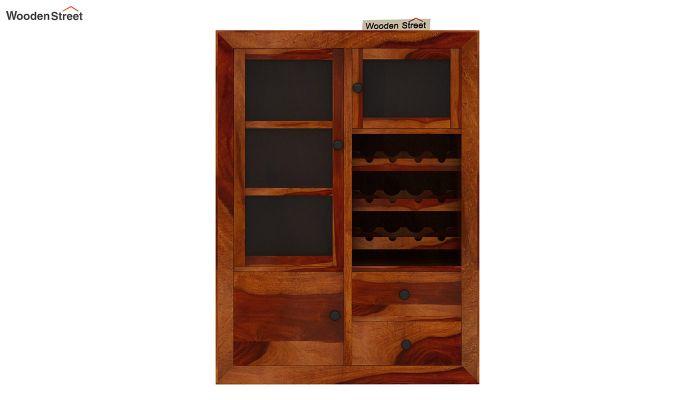Carvel Bar Cabinet (Honey Finish)-6