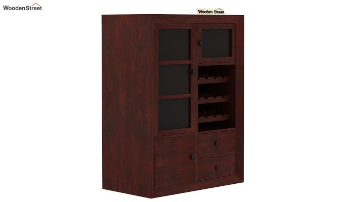 Carvel Bar Cabinet (Mahogany Finish)-5